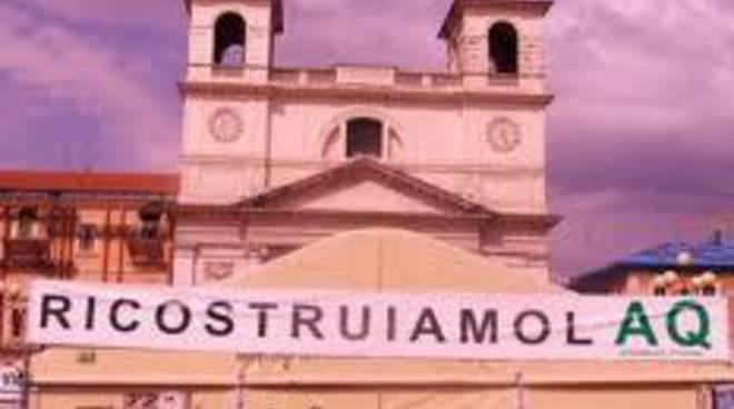 L'Aquila, Assemblea cittadina e ricostruzione