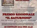 """Premio regionale """"Il Saturnino"""""""