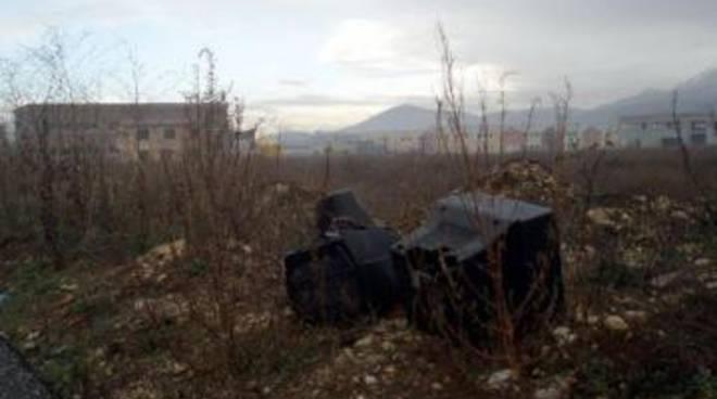 Sassa: Televisori abbandonati nel nucleo industriale
