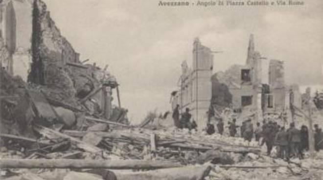 Terremoto: 97 anni fa il dramma della Marsica