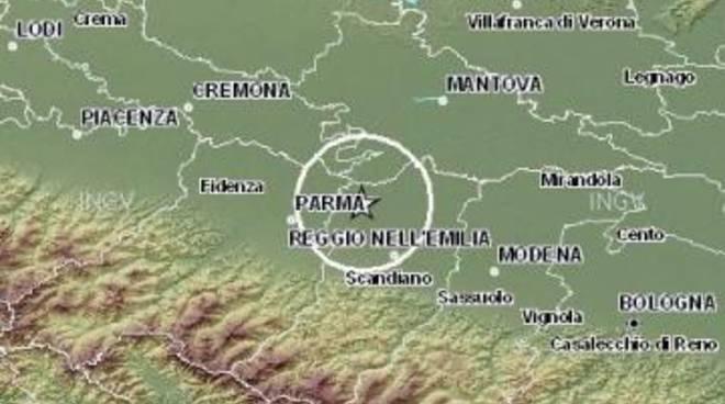 Terremoto: scossa in Emilia Romagna