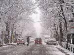 L'Aquila, arriva la prima neve: disagi e città nel caos