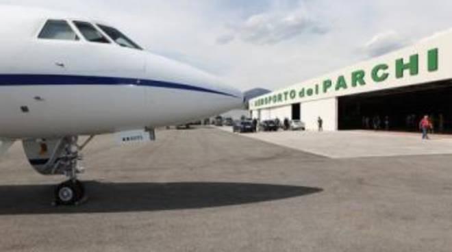 Aeroporto dei parchi: gestione alla X Press