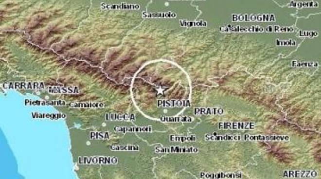 Terremoto: nella notte scossa tra Bologna e Pistoia