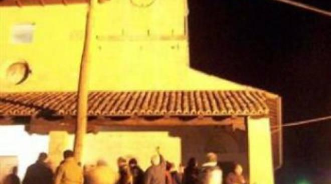 """Tornimparte: sì della Curia a """"Ju Calenne"""", ma rito fuori del sagrato"""