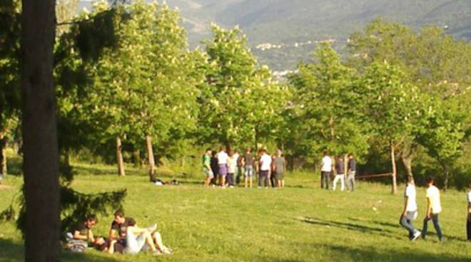 Al Parco del Sole struscio dei ragazzi