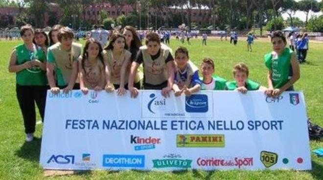 Studenti aquilani alle festa dell'Etica