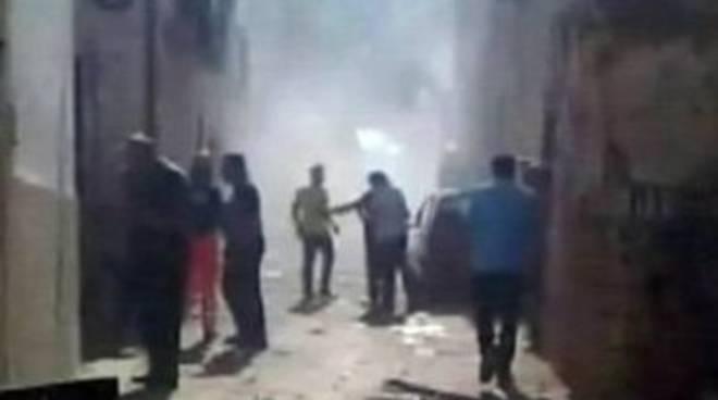Bari: crollano due palazzine