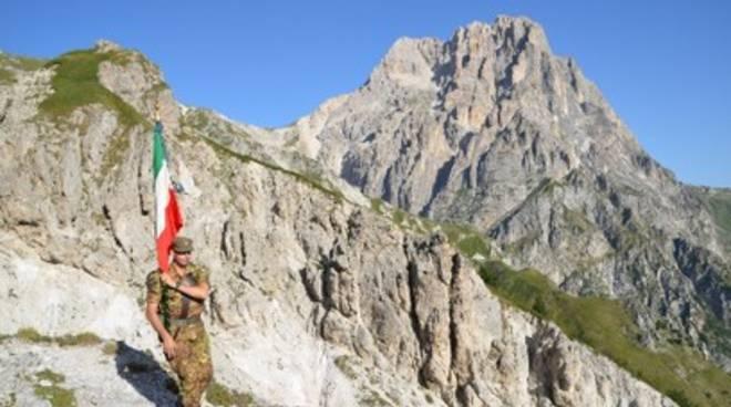 Alpini in pellegrinaggio a San Gabriele