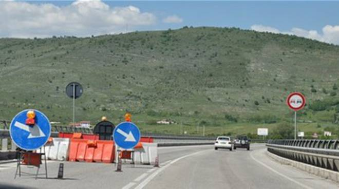 Avezzano-Sora, 4 feriti in superstrada