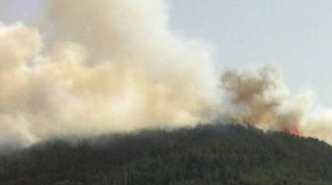 Incendio Roio: 'Canadair in ritardo'
