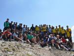 L'Aquila rugby sul Monte Camicia