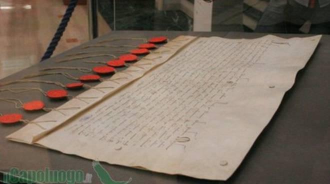 Lettera dei cardinali a Pietro da Morrone [Foto]