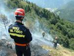 Vasto incendio a Balsorano