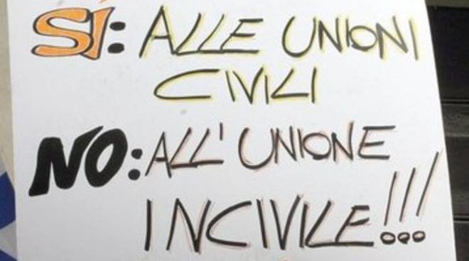 Di Nicola (Idv): Sì al 'registro delle unioni civili'