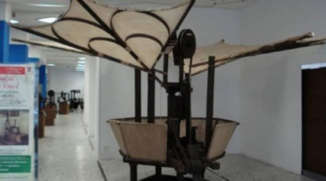 Le macchine di Leonardo da Vinci in mostra a Macerata