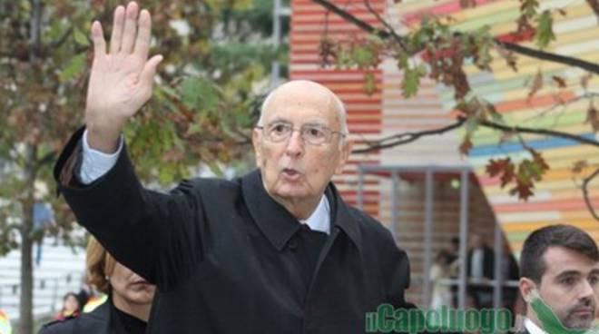 Napolitano: 'Nuovi contributi per L'Aquila'