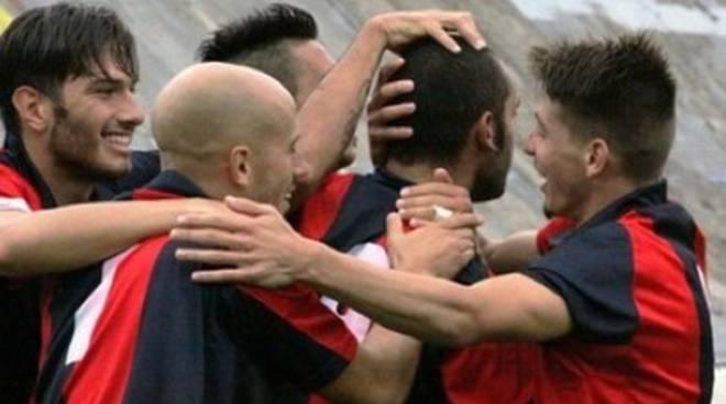 L'Aquila Calcio in campo contro il Borgo a Buggiano