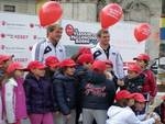 L'Aquila, Save the Children in Piazza Duomo