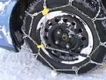 Neve, obbligo catene o pneumatici idonei