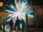 Strade nell'arte, scultura luminosa a L'Aquila