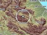 Terremoto, scossa 2.2 nella Valle dell'Aterno