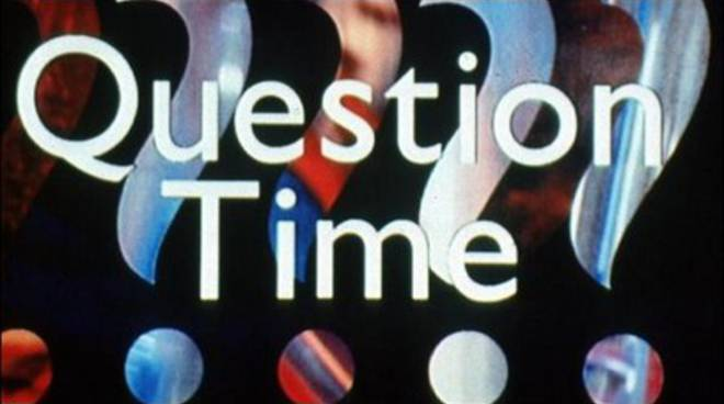 """Question Time"" itinerante, si riparte"