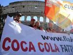 Coca Cola, sit in al Colosseo