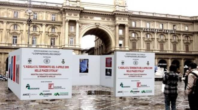 L'Aquila e il terremoto del 6 aprile nelle piazze italiane