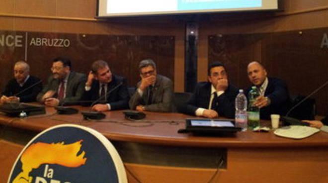 La destra, 'L'Aquila in Parlamento'