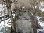 Paganica: il fiume Raiale sparisce sottoterra