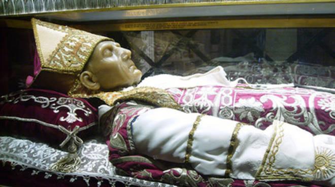 Papa Celestino, ricognizione reliquie