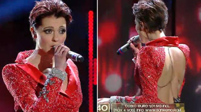 Sanremo: Simona Molinari regina di stile