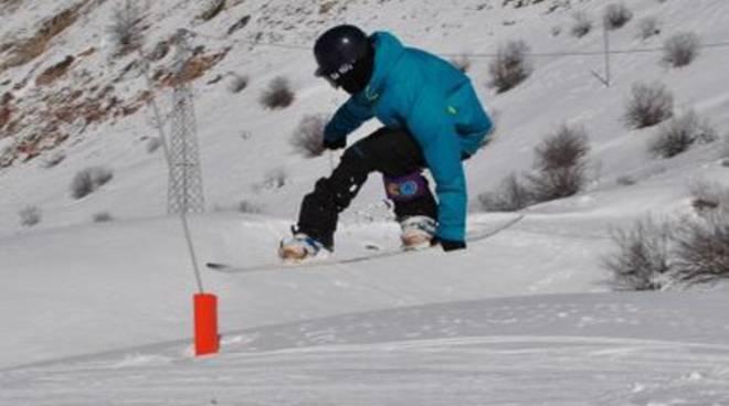 Wild Games, campionato regionale di snowboard
