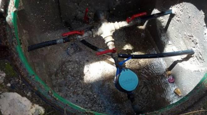 Capistrello, danneggiato serbatoio acqua