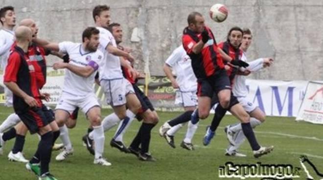 L'Aquila Calcio: un punto contro il Borgo