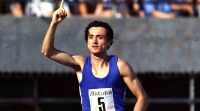L'Aquila, tributo per un grande atleta Pietro Mennea