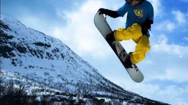 Snowboard, al via 'Monte Ocre Show Event'