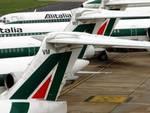 Tutti fermi, sciopero Alitalia