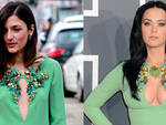 Fashion face-off: Eleonora Carisi e Katy Perri con lo stesso abito Gucci