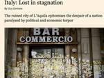 Financial Times boccia L'Aquila, Barca protesta