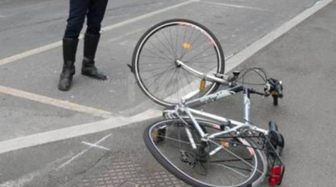 Incidente, investito ciclista