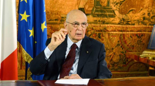 Napolitano torna al Colle