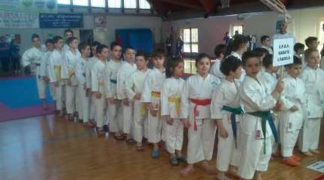 Prima edizione del trofeo Osaka Karate Popoli