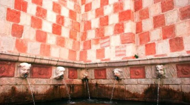 Fontana 99 Cannelle, al via manutenzione