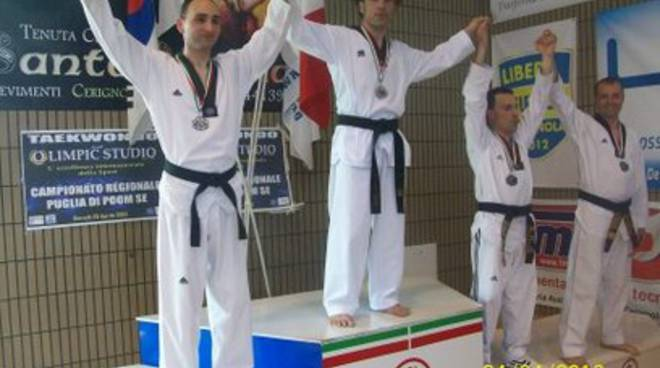 Il Taekwondo abruzzese brilla da Nord a Sud