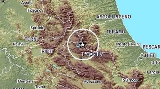 Scossa Monti della Laga, magnitudo 'ballerina'