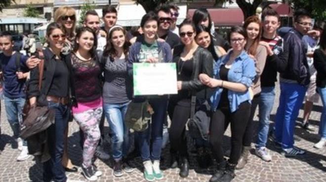 Avezzano, scuole 'ambientaliste' premiate in piazza