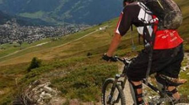 Gara di mountain bike a Cagnano