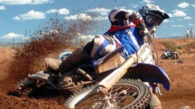 Gara regionale di motocross a Celano